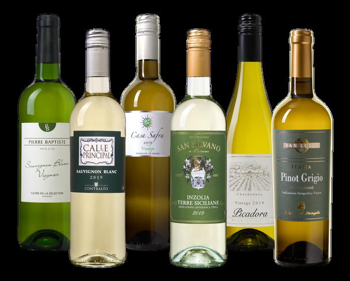 Drink-nooit-meer-slechte-wijn pakket Wit