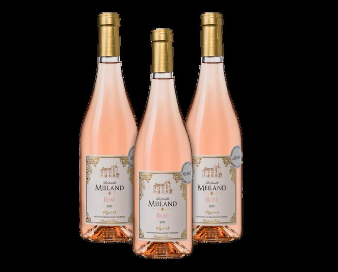 La Famille Meiland Rosé (3 flessen) | Wijnvoordeel
