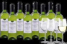 Wijnpakket Pierre Baptiste Sauvignon-Viognier 8 flessen + 4 glazen
