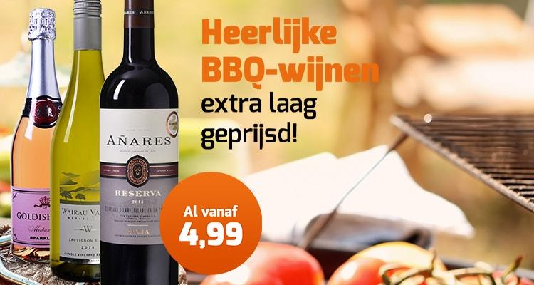 Heerlijke BBQ-wijnen
